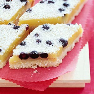 Lemon-Blueberry Diamonds