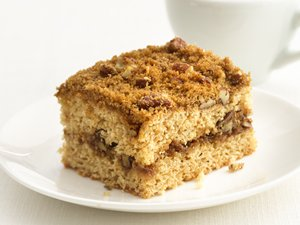 """Healthified"" Streusel Coffee Cake"