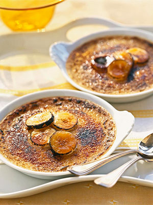 Coconut-Banana Creme Brulee (The Beaufort Inn)