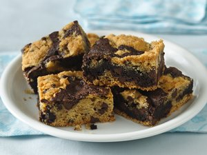 Cookie-Brownie Bars