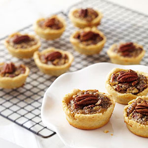 Mini Maple Pecan Pies