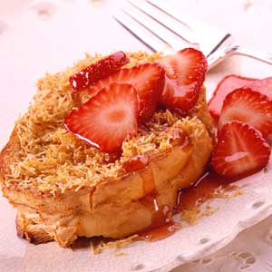 Streusel French Toast