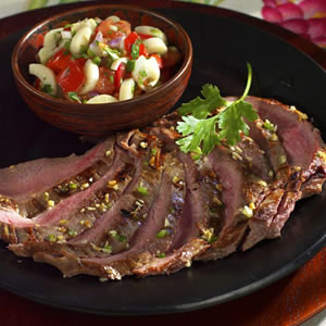 Brazilian Grilled Flank Steak