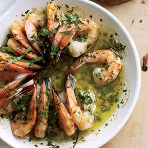Sizzling Shrimp Scampi