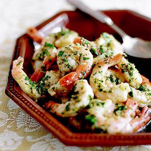 Shrimp Scampi-Style