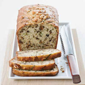 Yogurt-Zucchini Bread with Walnuts