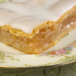Iced Apple Squares
