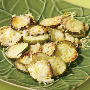 Mary's Zucchini with Parmesan