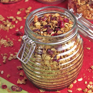 Cranberry-Almond Granola