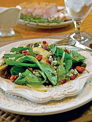 A Taste of Maple Pear Salad
