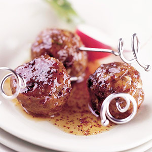 Sweet, Hot, and Sour Meatballs