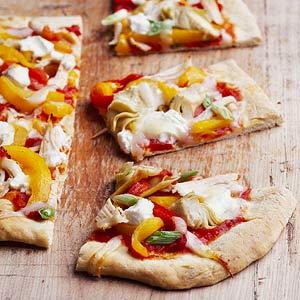 California-Style Chicken Pizza