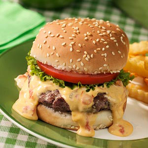 Queso Burgers