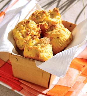 Jumbo Corn Muffins