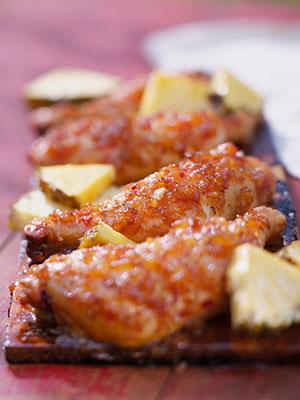 Pineapple-Glazed Chicken