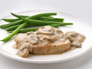 """Healthified"" Smothered Pork Chops"