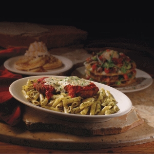 Tuscan-Style Vegan Pesto Pasta