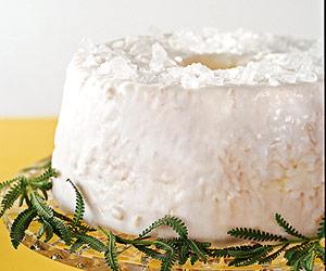 Festive Angel Cake