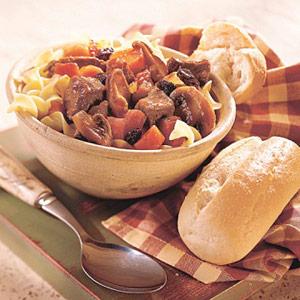 Beef-Mushroom Stew