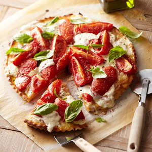 Fresh Mozzarella and Roasted Tomato Tart