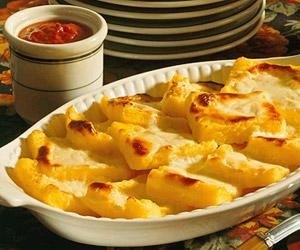 Cheesy Polenta Squares