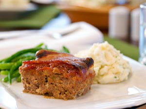 Mini Meatloaf with Ground Sirloin and Pork