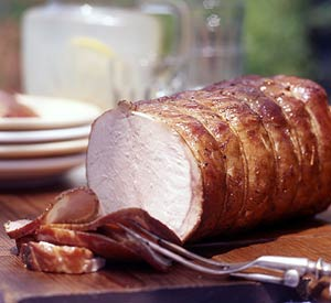 Hickory-Smoked Pork Loin
