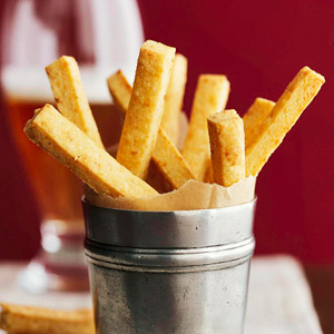 Cheddar Cornmeal Sticks