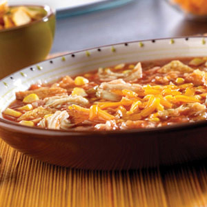 Santa Fe Chicken Tortilla Soup