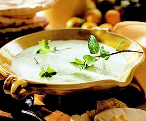 Cucumber-Yogurt-Mint Soup