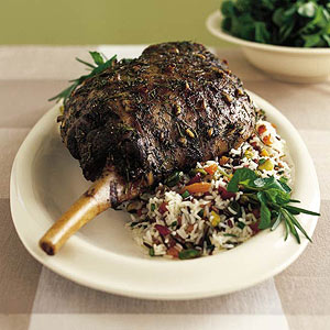 Harvest Leg of Lamb