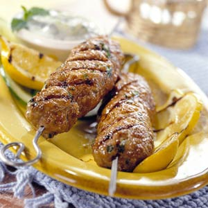 Lamb Kefta (Lebanese Lamb Kabobs)