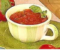 Tomato-Basil Bisque