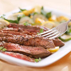 Lemon-Pepper Steak