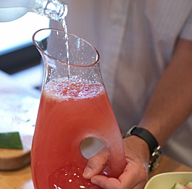 Shochu Watermelon Lemonade
