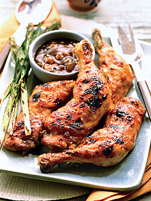 Apricot Grilled Chicken