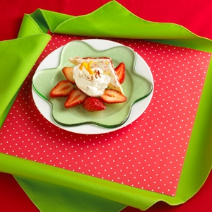 Strawberry Dip & Eat