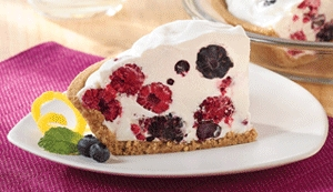 Berry Berry Cool Pie made with Eagle Brand® Sweetened Condensed Milk