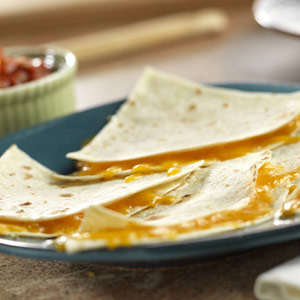 Super Easy Cheesy Quesadillas