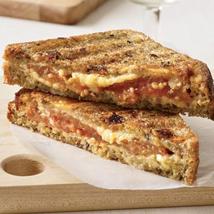 Multigrain Grilled Cheese Sandwiches