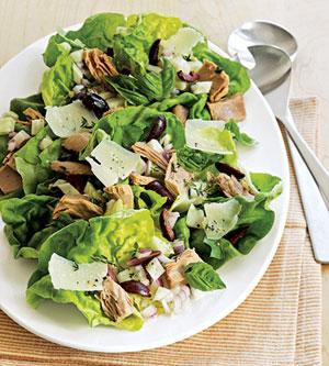 Crisp Tuscan Tuna Salad with Parmigiano-Reggiano