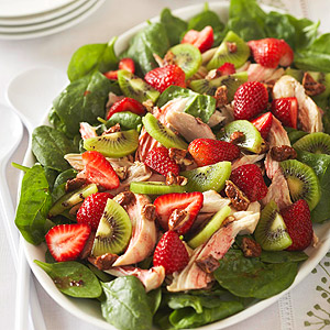 Strawberry-Kiwi Chicken Salad