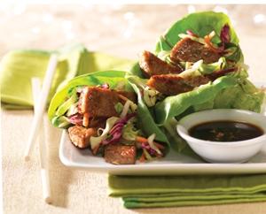 Asian-Style Lettuce Wraps