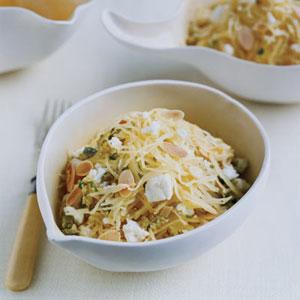 Warm Spaghetti-Squash Salad