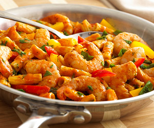 Birds Eye® Cajun Seasoned Shrimp with Saucy Vegetable Rigatoni