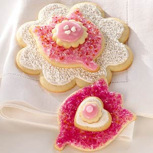 Flower Cookies with Cardamom