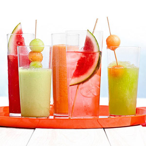 Fresh Melon Quenchers