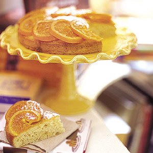 Candied Orange Cake