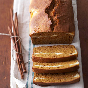 Double Decker Pumpkin Bread