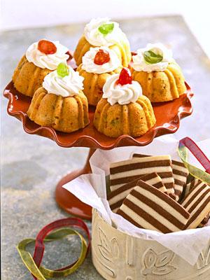 Candied Mini Fruitcakes